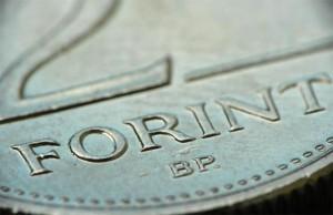 Ungarische Forint Münze und das Symbol