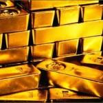 Goldbarren als Symbol für Sicherheit